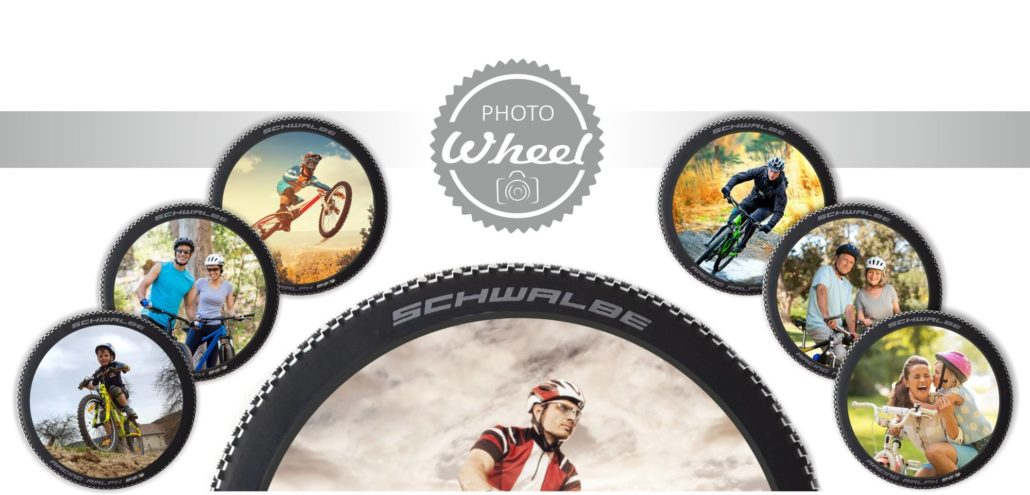 Photo-Wheel Header