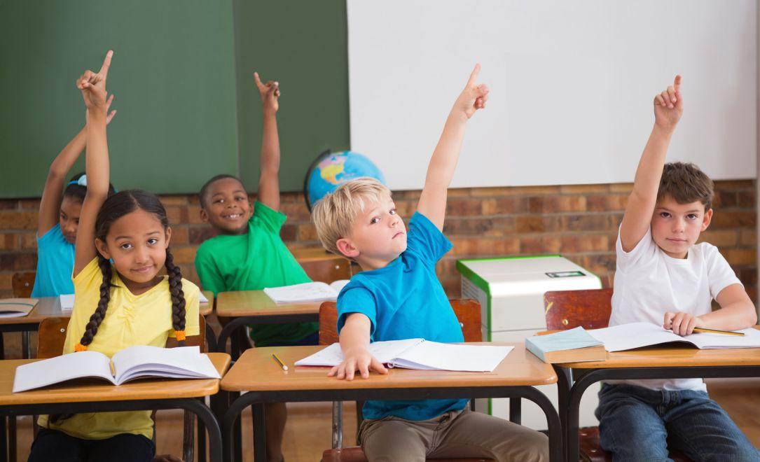 Luftreiniger im Klassenzimmer