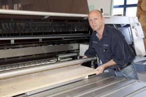 Plattendirektdruck auf Holz