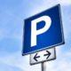 Parkplatzschild Beispiel