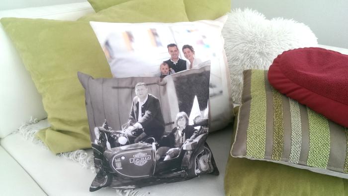 Allesdrucker Fotokissen fürs Sofa