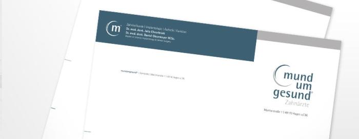 Zahnarzt Drucksachen - Briefpapier