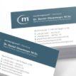 Zahnarzt-Drucksachen - Visitenkarten