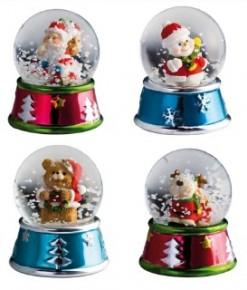 Schneekugel als Werbemittel zu Weihnachten